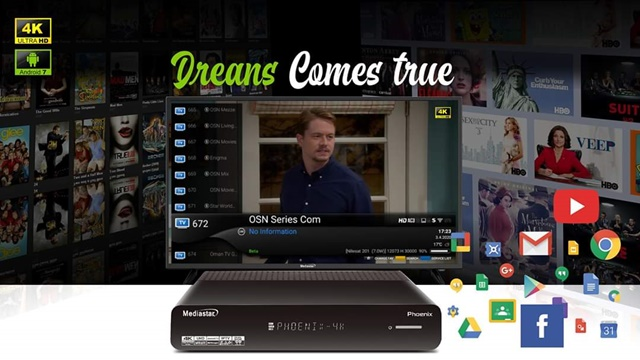 Mediastar Phoenix Satellite & Android 4K UHD Receiver Review