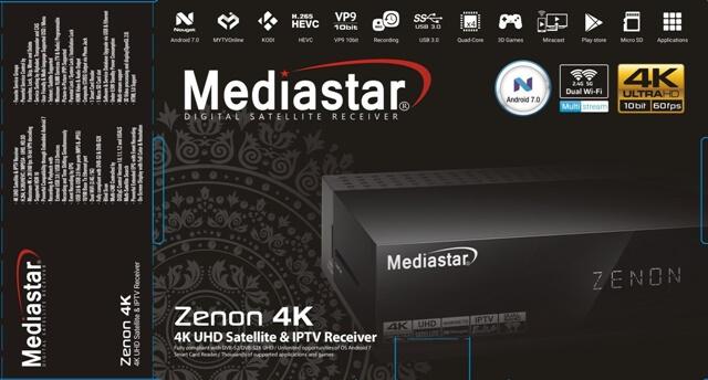 mediastar zenon 4k UHD receiver
