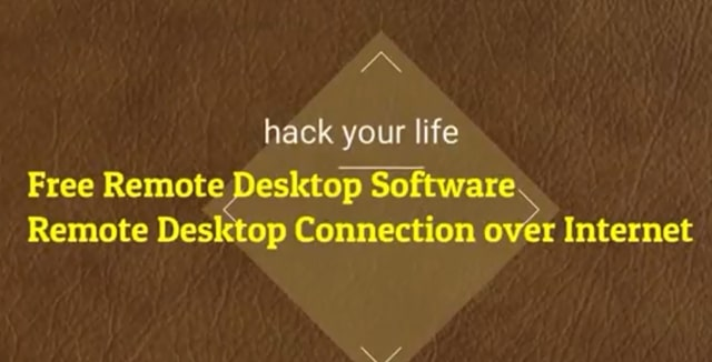 Remote Desktop And Free Share Screen Tool
