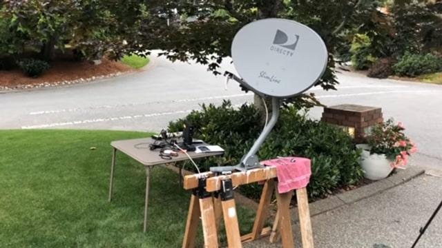 Adjusting A DirecTV Satellite Dish