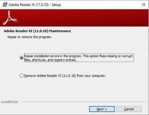 """How To Repair """"Adobe Acrobat Failed to Load Its Core DLL"""""""