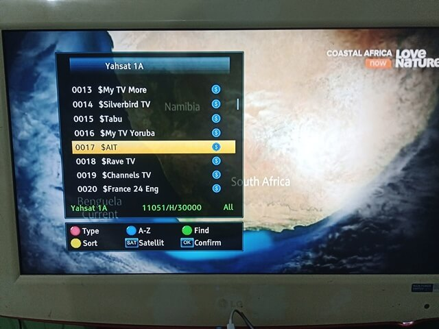 MyTV Africa: Frequency, Satellite And How To Activate My TV Decoder