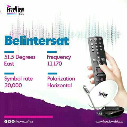 FreeView Africa, Tara HD And Zee Mundo TV Moved To Belintersat 51.5E