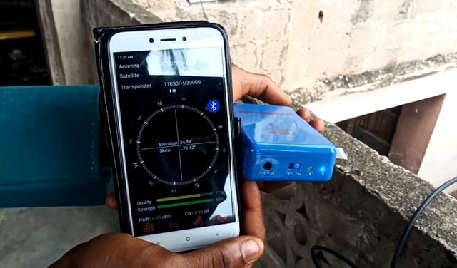 How Does GTMedia V8 BT05 Digital Satellite Finder Works?