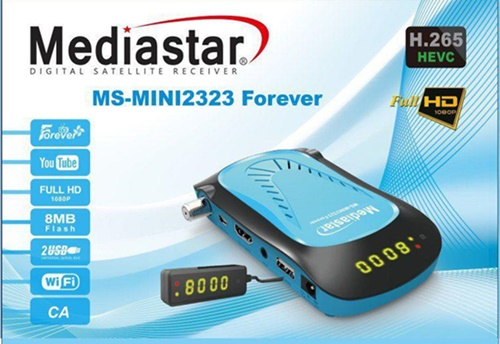 Mediastar MS-Mini 2323 Forever DVB-S2 And IPTV Receiver Review