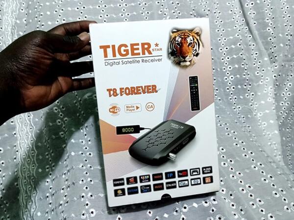 Tigerstar T8 Forever Receiver