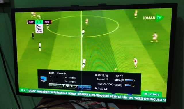 IDMAN TV And CBC Sports On Intelsat 12/904 At 45.0E