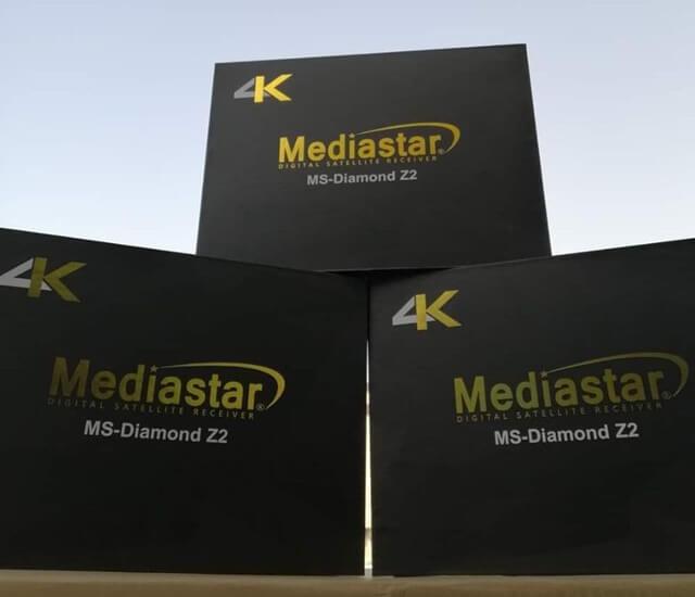 Mediastar MS-Diamond Z2 4K UHD Receiver