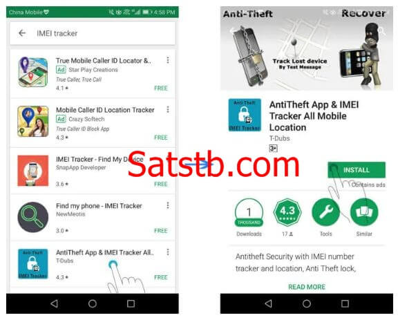 How To Find A Lost Android Phone With An IMEI Tracker App