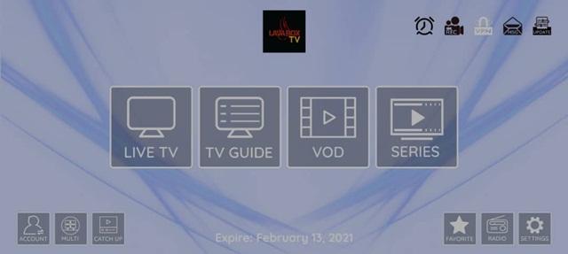 Lavabox TV IPTV App