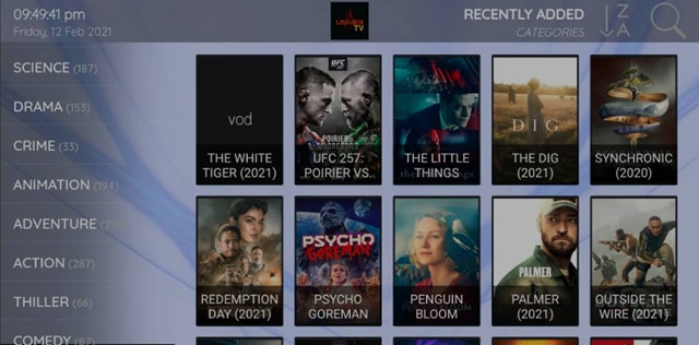 Lavabox TV VOD