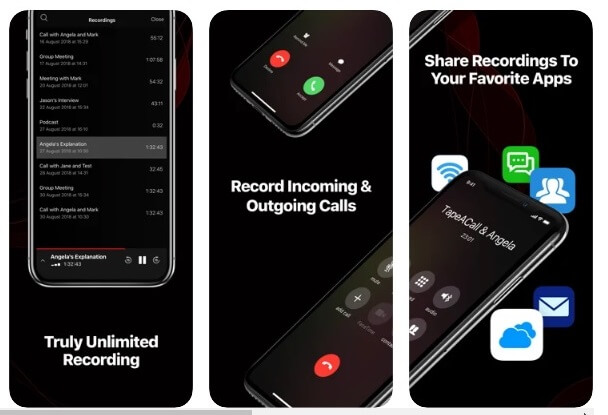 calls applications in iphone