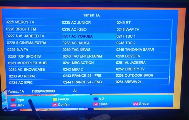 Moreplex TV Channels List, Satellite, Frequency, Decoder, Subscription price