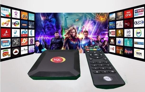 LGC Media IPTV Box Subscription Price