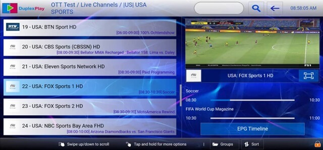 OTT Plus 4K IPTV Review
