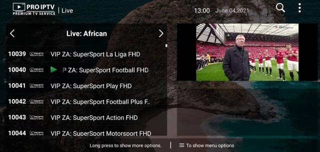 DATOO IPTV And Pro IPTV Premium TV Service