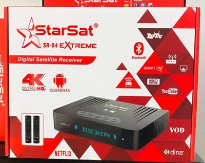 Starsat SR-X4 Extreme 4K Receiver Review