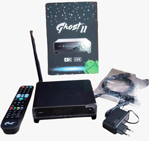 iBox Ghost 2 Android Hybrid And Satellite Receiver