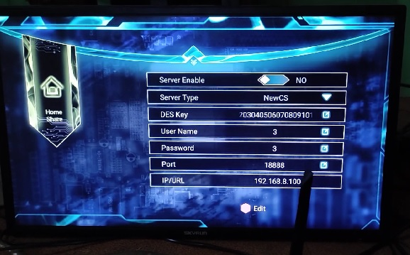 Forever Server Pro in Ghost 2 4K Android Receiver