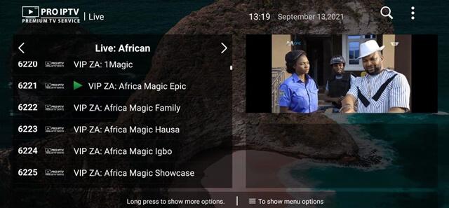 Download Pro IPTV App