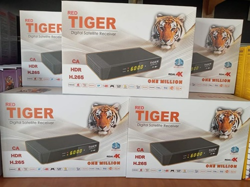 Red Tiger One Million 4K Ultra Receiver