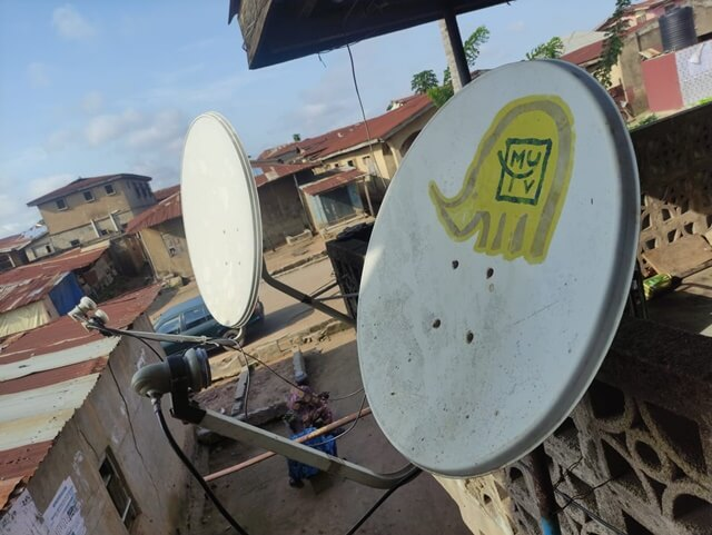 How To Install A Satellite Dish Without Meter